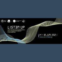 Listen Up: week van participatie jeugdzorg van 14 tot 18 juni